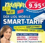 Erinnerung: Lidl Smart Tarif: 400 Einheiten + 300mb Datenflat nur 9,95 Euro monatlich - o2