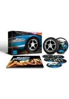 Fast And The Furious 1-5 Limited Wheel Edition ( Blu Ray)