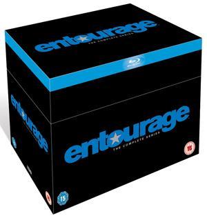 Entourage Season 1-8 Box auf BLU-RAY (englisch) für 82,65€
