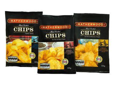 [Lidl] Wieder da! HATHERWOOD Hand Cooked Chips - Kesselchips ab 18.04.