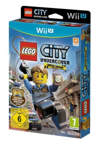 Lego City Undercover - limited Edition (mit Figur) für WiiU @SMDV