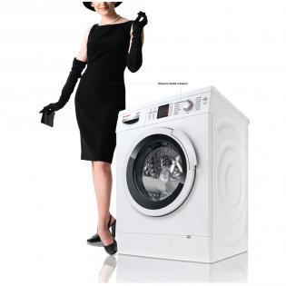 Bosch WAS 2844 B Logixx 8 BlackWash Waschmaschine @ redcoon