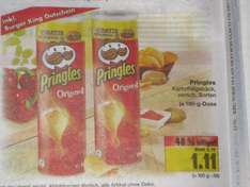 Bundesweit Kaufland -> Pringles inkl. gratis WHOPPER JR. Burger King Gutschein ab 15.04