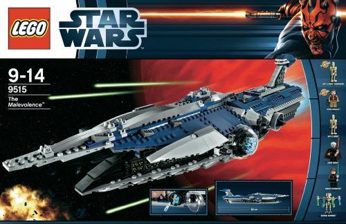 [CONRAD.DE] Lego Star Wars The Malevolence (9515) für 78,45 EUR (inkl. VSK und - 6% QIPU)