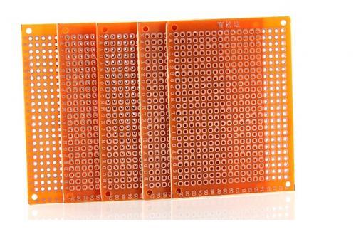 10 x Lochrasterplatinen 5*7 cm 432-pin
