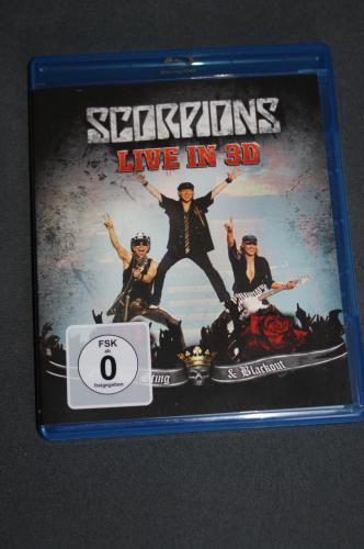 LOCAL:  SCORPIONS - Live in 3 D BLuray-Disc in STUTTGART bei SATURN