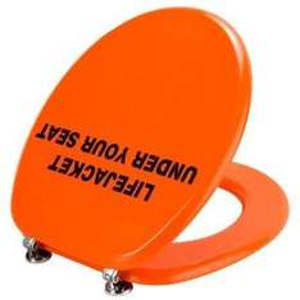 WC-Sitz mit Sicherheitsgefühl für den schweren Stuhlgang ;-)