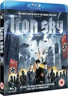 [Blu-ray] iron sky + digital copy @ Zavvi