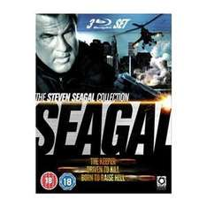 (UK) Seagal Triple Pack Box Set [3 x Blu-Ray] für 9.25€ @ Play (Zoverstocks)