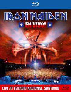 (Amazon) Iron Maiden - En Vivo! Live Blu-ray für 6,99 €