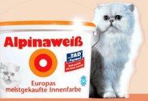 24L Alpina Weiss (mit der dicken Katze ) bei Toom für 75,65    3,15€/Liter