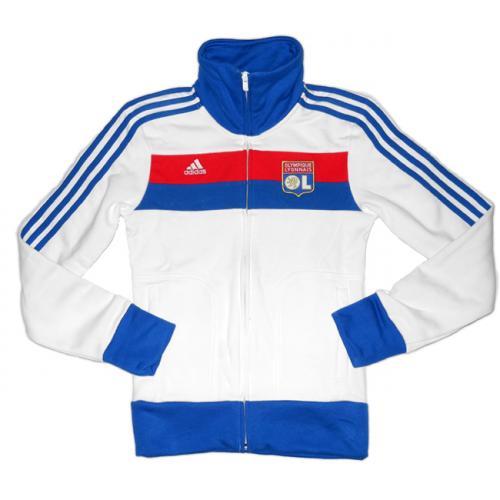 Damen Adidas Olympique Lyon Firebird Jacke