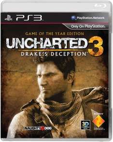 Uncharted 3: Game Of The Year Edition für PS3 (deutsche Sprache) bei Thehut für nur 13,66 €!!