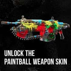 Gears of War: Judgment - Paintball Waffen Skin