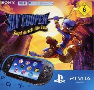 SONY PSVita Wi-Fi Konsole inkl. Sly Cooper: Jagd durch die Zeit