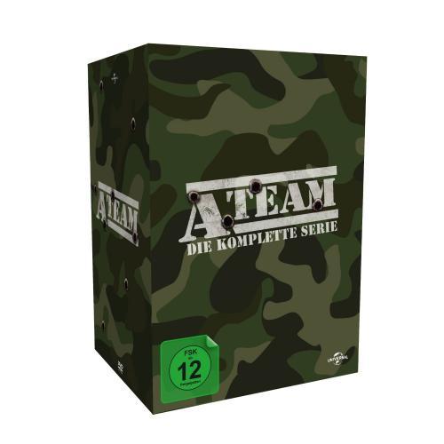 A-Team die komplette Box auf DVD für 29,99€ @amazon
