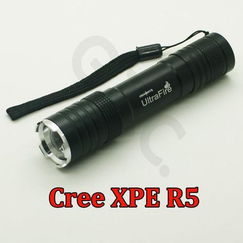 UltraFire Stretch XP-E R5 LED Taschenlampe 800LM mit 3 Modi für nur 3,97€ inkl. Versand