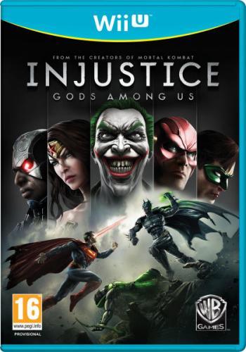 Injustice: Gods Among Us (PS3/WiiU) für 36,46 € vorbestellen @ Thehut