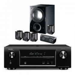 Denon AVR-X1000 schwarz + Elac Starlet 5.1 schwarz für 699€ ERSPARNIS 369,-€