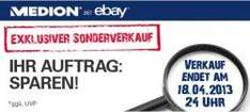 Medion Secret Sale bis 50% sparen – nur bis 18.4. 24Uhr auf eBay