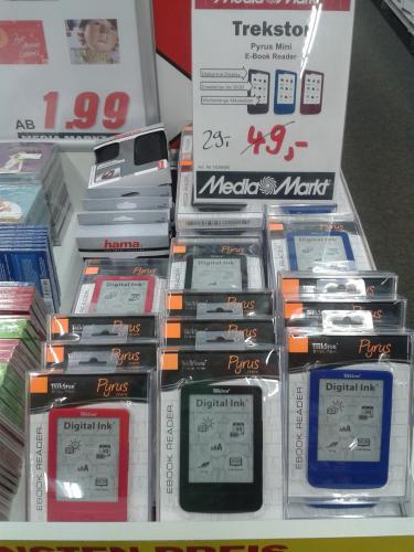 Trekstor E-Book Reader 29€ Offline @Mediamarkt Bischofsheim