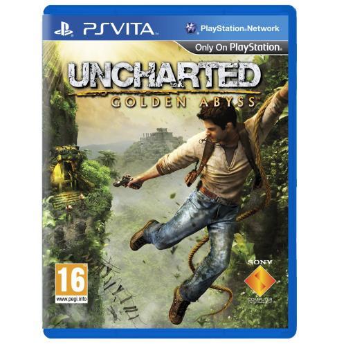 Uncharted Golden Abyss Vita für 20€ zzgl. 2€ Versand bei Ebay (Update : Neue Exemplare)