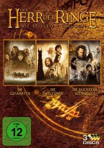 [DVD]Herr der Ringe: Die Spielfilm Trilogie für 9,99 € @ Media Markt