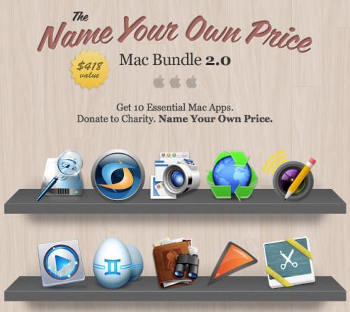 Name Your Own Price Mac Bundle 2.0 mit bis zu 10 Apps (Blu-ray Player, Crossover XI) zum Knüllerpreis