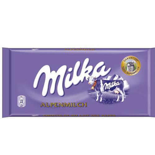 Milka Schokolade -  100g - nur 49 Cent   [lokal / V-Markt]