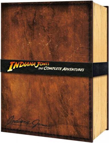 Indiana Jones The Complete Adventures Collectors Edition (BluRay) bei TheHut.com für 64€