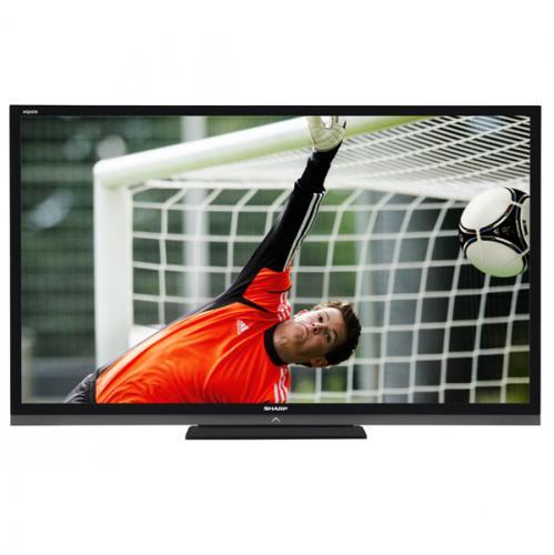 Sharp 70 Zoll (177cm) 3D LED Fernseher, LC 70 LE 740 E für 1.999,-€ inkl. Versand