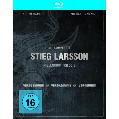 [BLU-RAY] Stieg Larsson Millennium Trilogie @ Saturn.de für 10,00 EUR