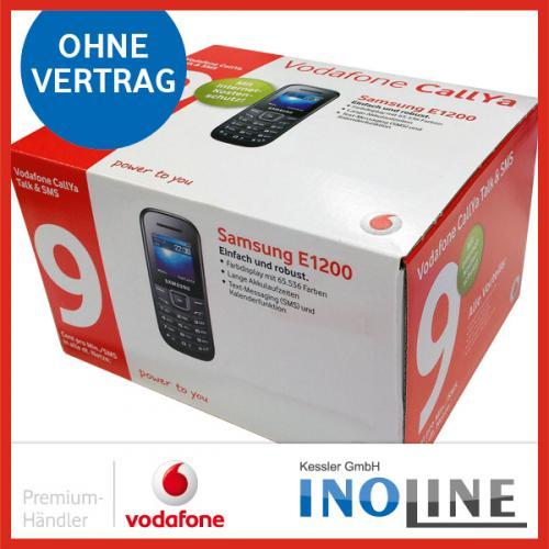 CallYa-Box inkl. 16€ Guthaben  + Samsung Handy E1200 für nur 15,- Eur inkl. Versand