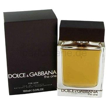 The One EdT von Dolce & Gabbana 100ml @iparfumerie.de
