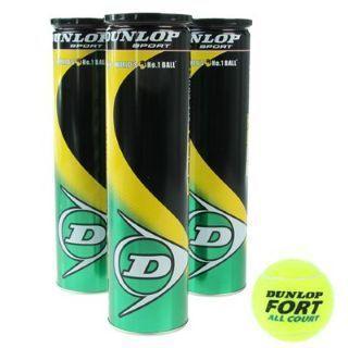 [SportsDirect] 3x4 Dunlop Fort All Court Tennis Balls 1 Dozen für 9,99 + 1 Euro Versand