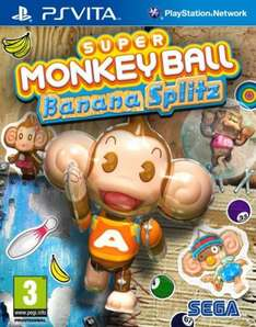 PS Vita - Super Monkey Ball: Banana Splitz für €8,11 [@TheHut.com]