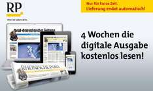 4 Wochen Rheinische Post als digital Abonnement