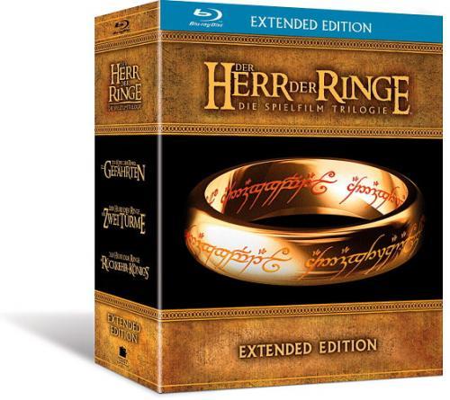 Der Herr der Ringe - Die Spielfilm Trilogie (Extended Edition) [Blu-ray] bei Media Markt