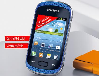 Samsung Galaxy Music GT-S6010 für 99 € bei Aldi Süd