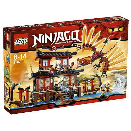 KARSTADT.de - LEGO Ninjago 2507 Ninja Feuertempel - durch Rabatt-Code.