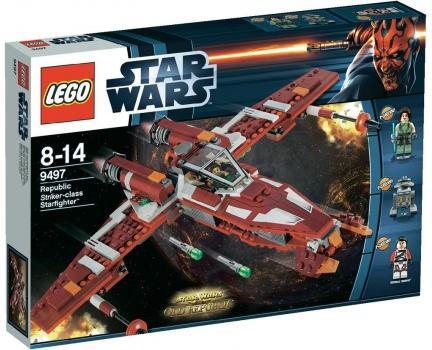 SMDV.de - LEGO Star Wars 9497 Republic Striker-class Starfighter - durch Rabatt-Code.