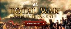 [STEAM] Total War Collections Sale: z.B. Rome TW Collection 2,74€ etc. / Bei Bezahlung in $ noch billiger @getgames