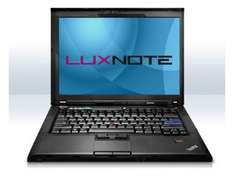 Refurbished IBM Lenovo ThinkPad R400 Core2Duo 2,53Ghz 2Gb 160Gb  LED Hintergrundbeleuchtung