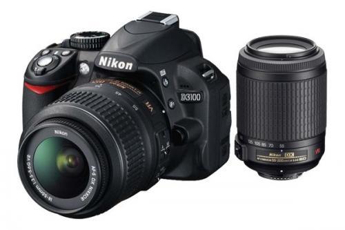 Nur noch Heute! Lokal Saturn HH / Nikon D3100 18-55+55-200 399€