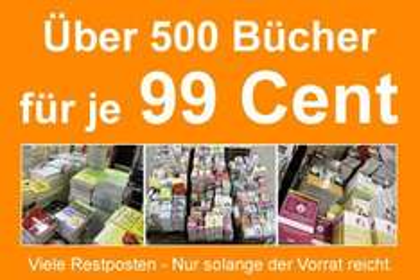 Restpostenaktion: Über 500 Bücher und ein paar Elektronik Kleinartikel für je nur 99 Cent @ Terrashop.de