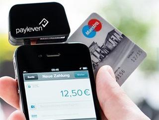 Payleven Kostenloser Kreditkartenleser für Unternehmer