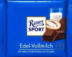 Kaufland (Hannover): Ritter Sport Schokolade, verschiedene Sorten, je Tafel nur 0,49 Euro