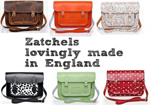 Edle handgefertigten Ledertaschen! 50%-Birthday-Sale bei Zatchels, Versand nach D zwar 12£, lohnt sich aber (s. Vergleichspreise Zalando); nur bis morgen nachmittag!