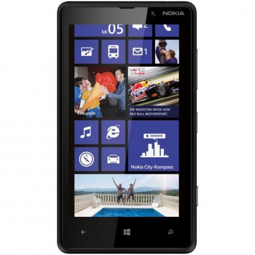 Nokia Lumia 820 Black ohne Vertrag, ohne Branding, ohne Sim-Lock@Getgoods.de 294,99€