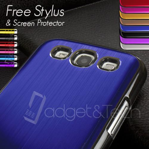 "[ebay.co.uk] Schutzhülle Galaxy S3 Gebürstetes ""Aluminium"" verschiedene Farben ca 4,64€"